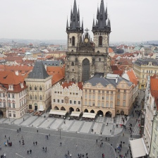The Church of Our Lady before Tyn in the Old Town Square